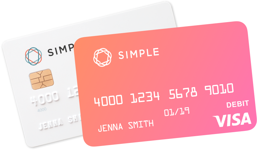 Image of a physical credit card, and its digital representation.